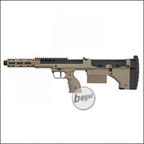 """Silverback Desert Tech SRS A2 SPORT Sniper Rifle, 16"""" Version -TAN- (frei ab 18 J.)"""