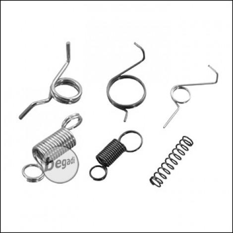 E&C Federn Set für V2 Gearboxen, 6 teilig
