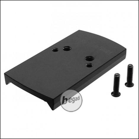 Begadi CNC Alu Red Dot Montageplatte für Cyma CM.127 AEPs