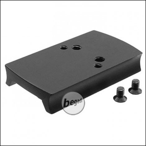Begadi CNC Alu Red Dot Montageplatte für Cyma CM.125 AEPs