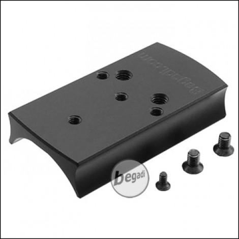 Begadi CNC Alu Red Dot Montageplatte für Cyma CM.126 und CM.132 AEPs