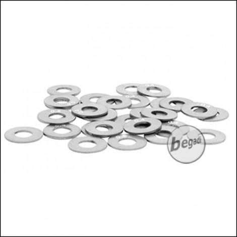 Begadi Shim Set mit Lasergravur 0,40mm x 30 Stück