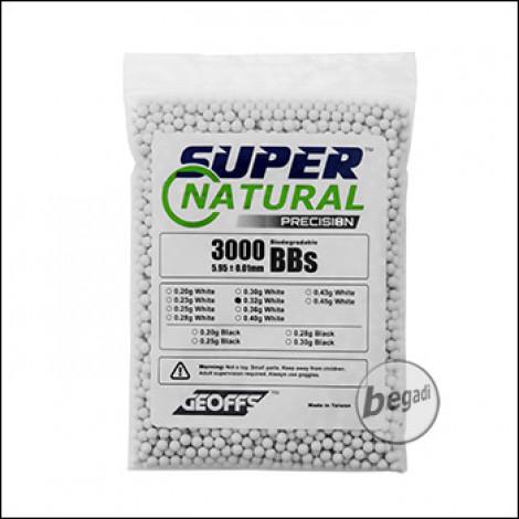 3.000 GEOFFS Super Natural BBs 6mm 0,32g