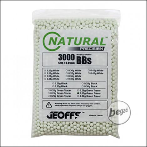 3.000 GEOFFS Natural Precision Bio -TRACER- BBs 6mm 0,30g