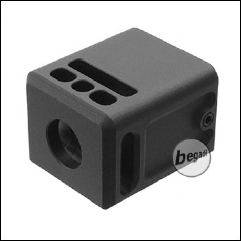 5KU G17 Mini Kompensator / Flashhider -schwarz- [GB-447-BK]
