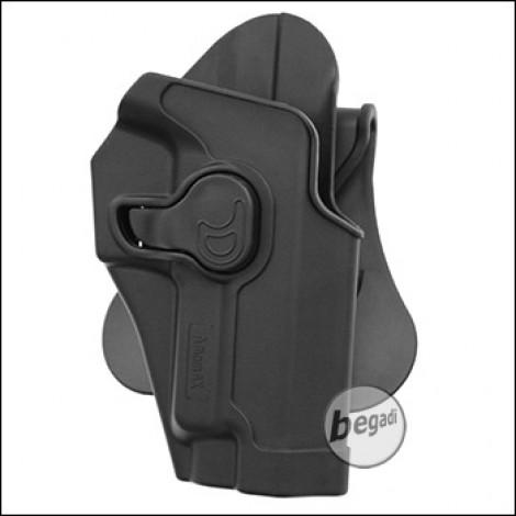 AMOMAX Paddle Hartschalen- Holster für TM / WE / KJW P226 Serie, schwarz  [AM-S226G2]