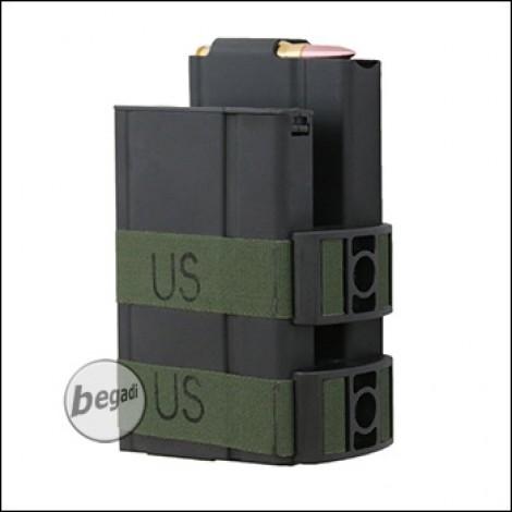Battleaxe M14 Elektro Dual Highcap Magazin (750 BBs) -schwarz-