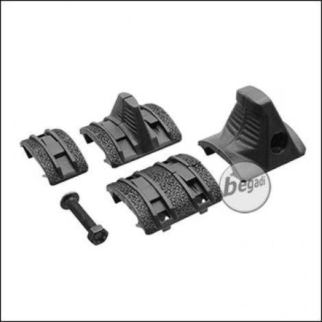 Battleaxe Mini Grip & Cover Set -schwarz-