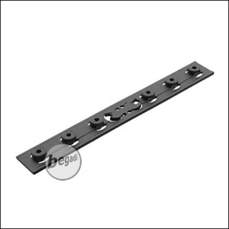 Battleaxe URX4 / KeyMod Handguard Rail Panel - schwarz (1 Stück)