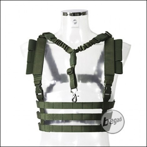 Begadi Basic Chest Rig mit QD Sling -olive-