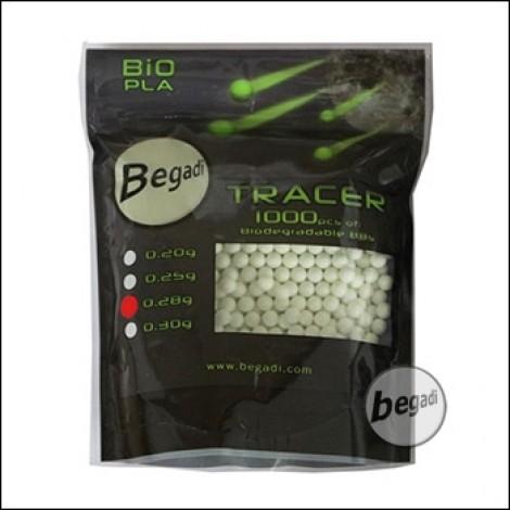 1.000 BEGADI BIO TRACER BBs 6mm 0,28g -grün-
