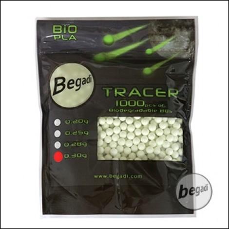 1.000 BEGADI BIO TRACER BBs 6mm 0,30g -grün-