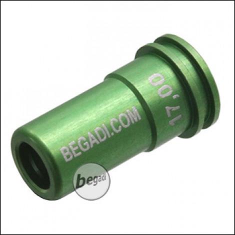 Begadi PRO CNC Nozzle aus 7075 Aluminium mit Doppel O-Ring -17.00mm-