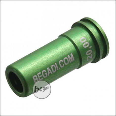 Begadi PRO CNC Nozzle aus 7075 Aluminium mit Doppel O-Ring -20.00mm-