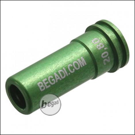 Begadi PRO CNC Nozzle aus 7075 Aluminium mit Doppel O-Ring -20.80mm-