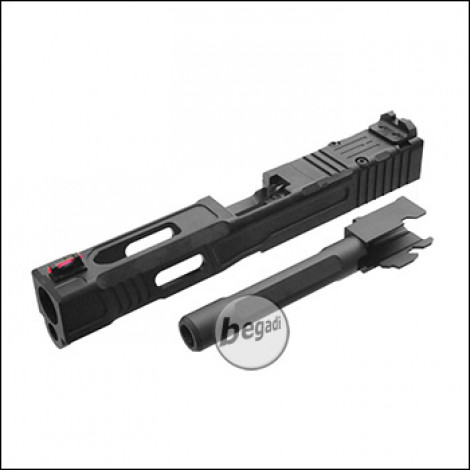 "Begadi ""Competition"" CNC Schlitten Set für G-Series Modelle (TM G17, WE G17, G-Force, KJW KP-13 GBBs)"