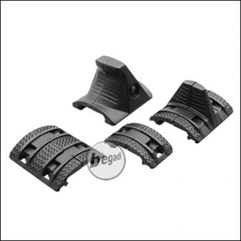 Begadi Double Handstop Kit -schwarz-
