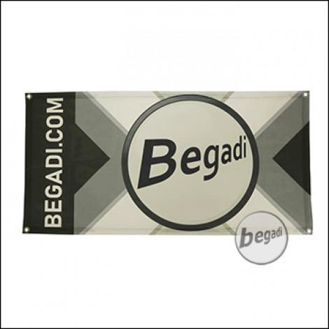 """Begadi Fahne """"Begadi-X"""", Fotodruck, 60x120cm, mit Ösen"""