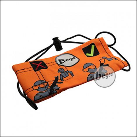 Begadi Laufsocke, neue Version, 16x8cm - orange