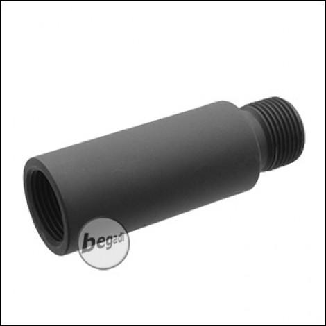 Begadi M4 14mm CCW Outerbarrel Verlängerung -kurz- (40mm)