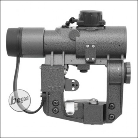 Begadi PK-A Red Dot mit Side Mount