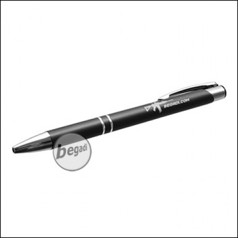 Begadi Metall Kugelschreiber, Titan-Metallic