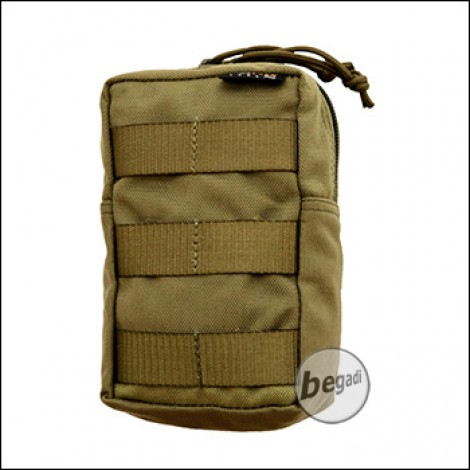 """BE-X FronTier One Modulartasche """"Mag Sized Utility V2.0"""" - coyote TAN"""