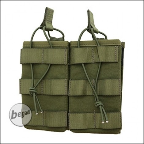 """BE-X FronTier One Modulartasche """"Open G36 Double V2.0"""" - olive"""