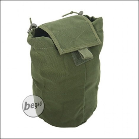 "BE-X FronTier One Abwurfsack / Dump Pouch ""Xtra Large, faltbar"" - olive"