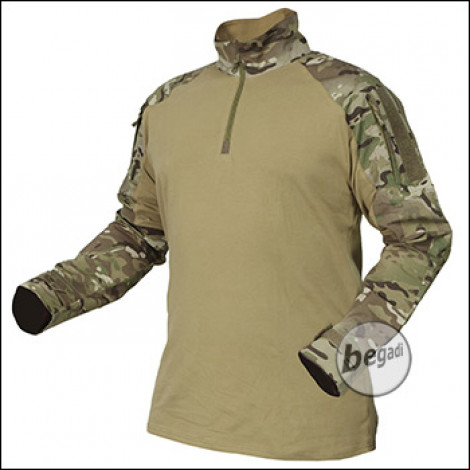 "BE-X FronTier One Einsatzfeldhemd ""Combat Shirt"", multicam"