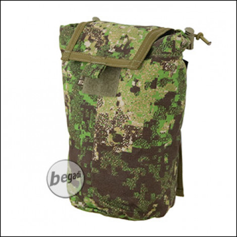 """BE-X FronTier One Abwurfsack / Dump Pouch """"Xtra Large, faltbar"""" - PenCott Greenzone"""