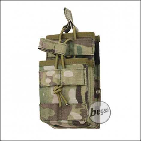 """BE-X FronTier One Modulartasche """"Open M4 Stacked V2.0"""" - multicam"""