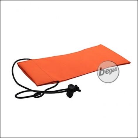 Begadi Laufsocke aus Cordura, 10x22cm - orange