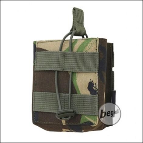 BE-X Open Mag Pouch, single, für HK417 - woodland DPM