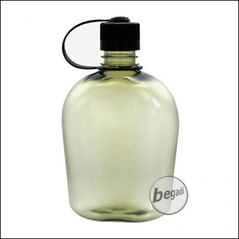 BE-X Wasserflasche Gen II, Polycarbonat, BPA frei, grün