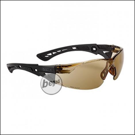 "Bollé Schutzbrille ""RUSH+"", MilSpec zertifizierte BSSI Ausführung, twilight (RUSHTWIBSSI)"
