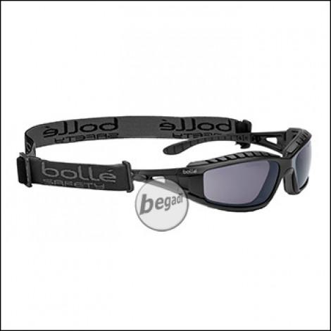 """Bollé Schutzbrille """"Tracker II"""", MilSpec zertifizierte BSSI Ausführung, smoke (PSSTRAI443)"""