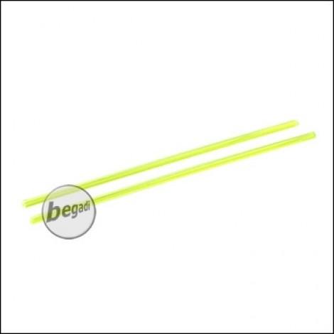 Dynamic Precision Lichtsammelstäbe / Fiber Optic Stäbe -grün- (2 Stück)