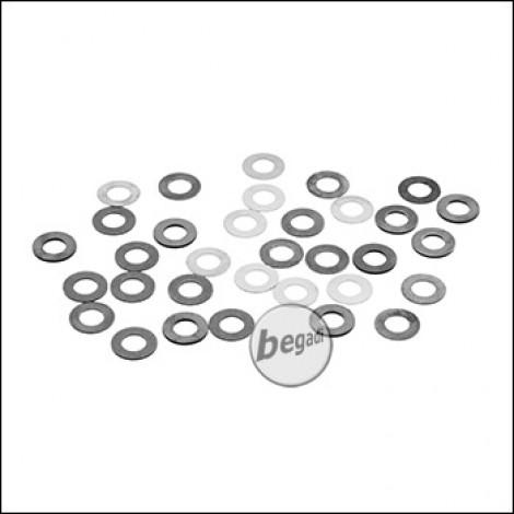 EPeS Shim Set 0,1 / 0,2 / 0,3 / 0,5mm - 32 Stück [E012-SET]