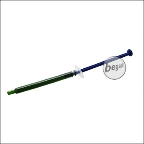 EPeS Flüssige Schraubensicherung in Spritze, 1ml, dunkel -schwach-  [E043-L]
