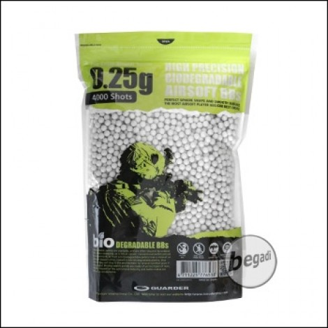 4.000 Guarder High Precision BIO BBs 6mm 0,25g -hell-