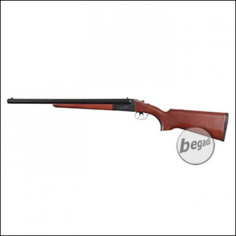 Haw San FS-0521 Double Barrel Shotgun inkl. 2 Hülsen -lange Version- (frei ab 18 J.)