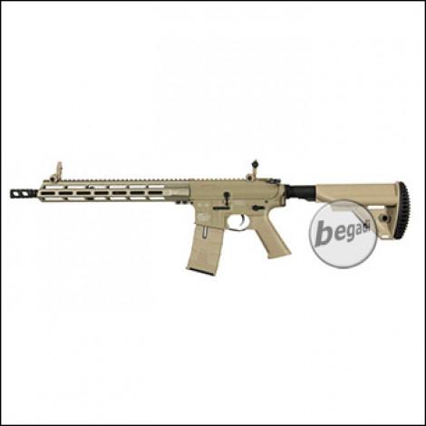 ICS M4 CXP-X MMR Carbine S-AEG mit SSS Mosfet, TAN (frei ab 18 J.) [IMT-401-1]