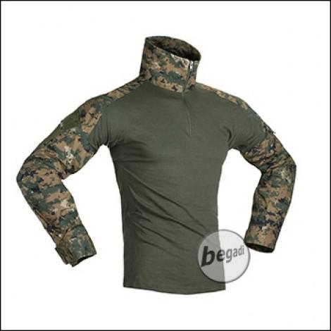Invader Gear Combat Shirt, Digital Woodland