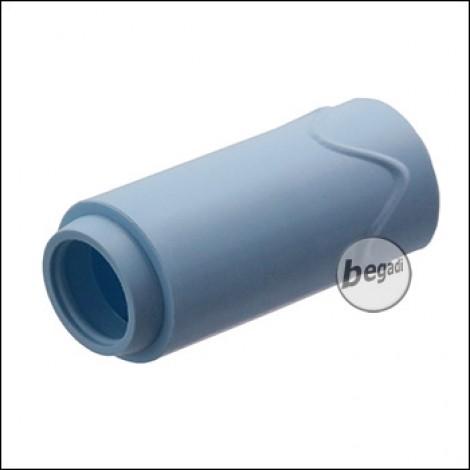 "Maple Leaf 70° ""Super Macaron"" AEG (Federdruck & GBB) Flat Hop Bucking / Gummi - blau"