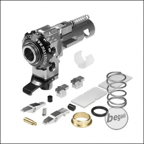 Maxx Model ICS M4 CNC Alu HopUp Unit Set IE PRO -silber-