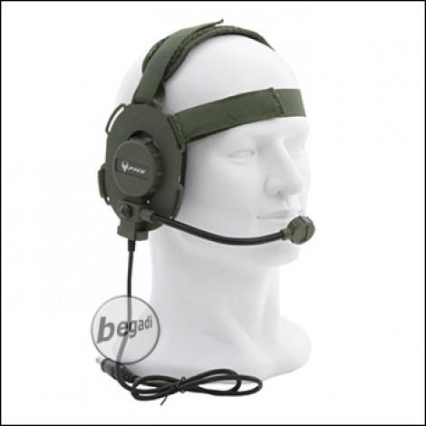 "PHX Funk Headset ""Archer"" -olive-"