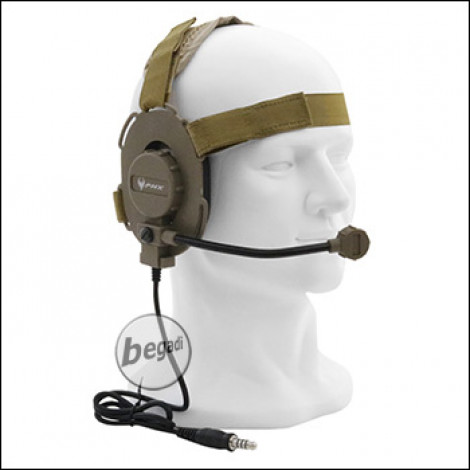 "PHX Funk Headset ""Archer"" -TAN-"