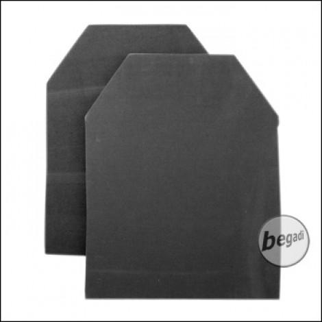 SAPI Deko Schutzplatten -Schaumstoff Version-, 2er Pack