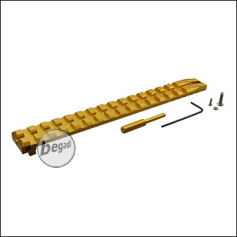SLONG Complete Rail Set für TM / WE / KJW G Serie -goldfarben-